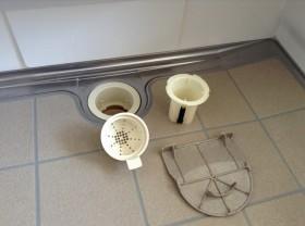排水パーツの洗浄