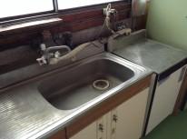 給湯室の修繕クリーニング