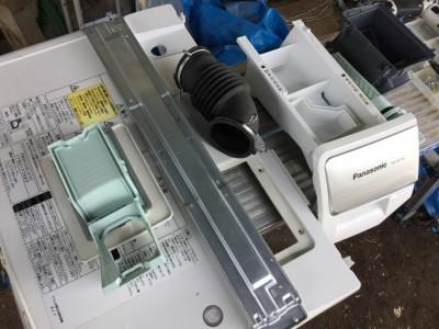 ドラム式洗濯機の分解洗浄