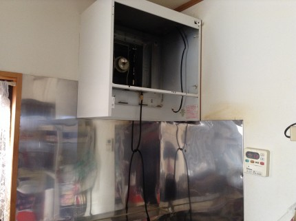 レンジフード換気扇のクリーニング