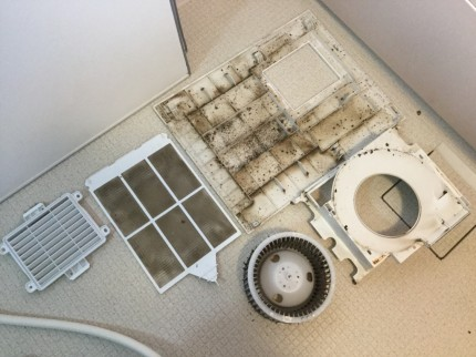 TYB3011GA TOTO製 浴室暖房乾燥機  分解洗浄TYB3011GA TOTO製 浴室暖房乾燥機  分解洗浄