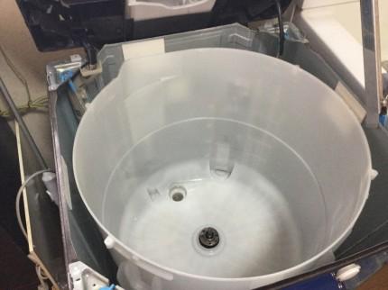 洗濯機槽内ヘドロ除去