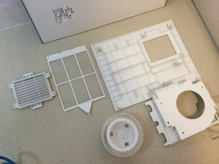 TYB3011GA TOTO製 浴室暖房乾燥機  分解洗浄