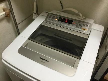 パナソニック洗濯機の分解洗浄