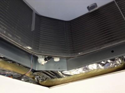 天井埋めこみエアコン分解洗浄