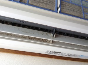 エアコンのカビ洗浄