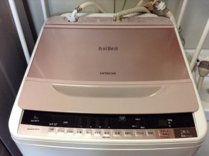 日立のビートウォッシュ洗濯機の分解洗浄です!
