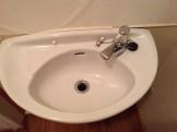 洗面台の研磨