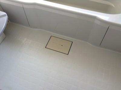 お風呂のカビ汚れ落とし