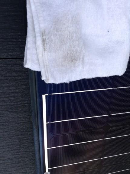 太陽光の汚れ具合