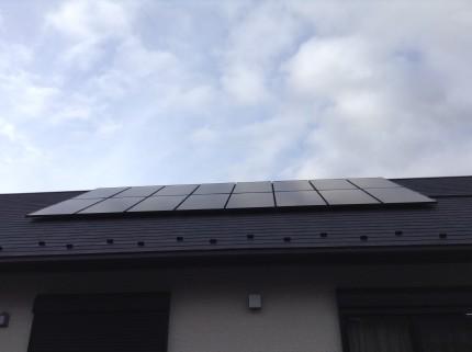 ソーラーパネルのクリーニング