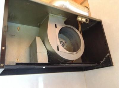 分解洗浄換気扇