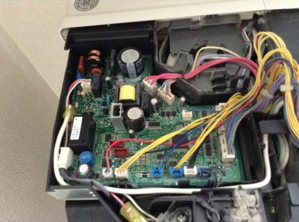 三菱エアコン分解洗浄