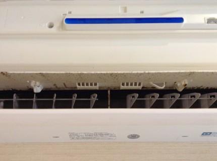 シャープのおそうじ機能付きエアコン分解洗浄