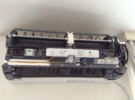 MSZ-ZW711S-W 分解洗浄 三菱 2011年製