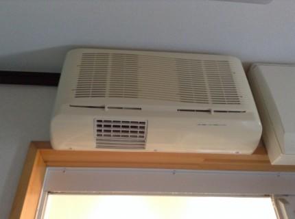 TOTO浴室暖房乾燥機分解洗浄