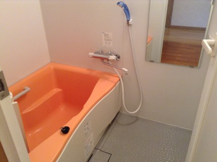 お風呂のエプロン内部洗浄