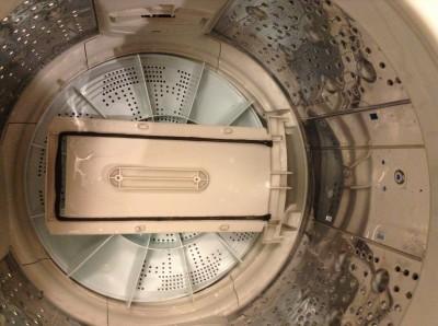 洗濯機分解洗浄後の一年後の汚れ
