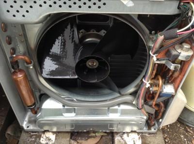 室外機の分解洗浄