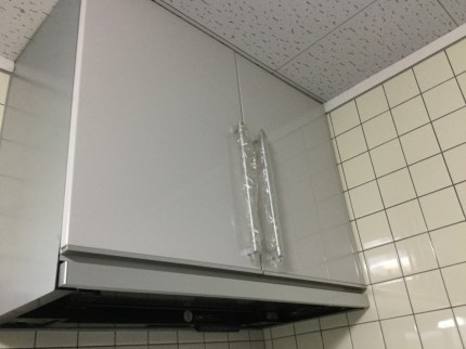 収納型レンジフード分解洗浄