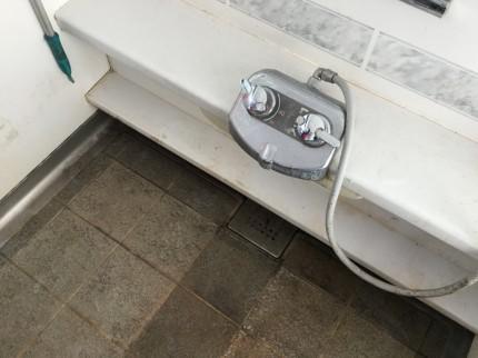 お風呂のカビ落とし