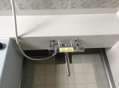 お風呂の水垢除去