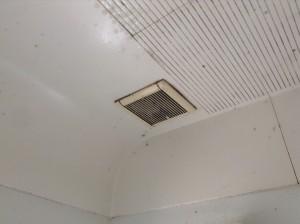 浴室換気扇カビ除去