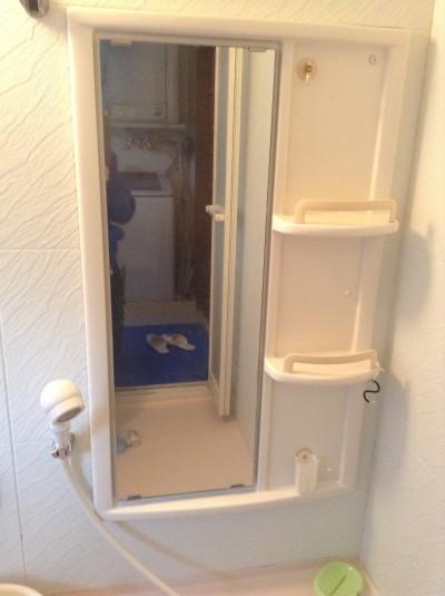 浴室天井カビ除去