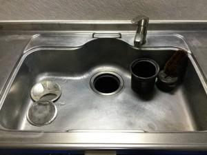 3月9日 シンク磨き