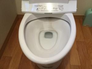 トイレ輪ジミ落とし